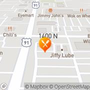Map Carl's Jr. Logan, United States