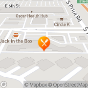Map Edge of the Maze Cafe Tempe, United States