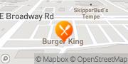 Map Burger King Tempe, United States