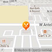 Map Carl's Jr Layton, United States