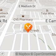 Map Baja Fresh Mexican Grill Phoenix, United States