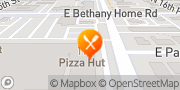Map Pizza Hut Phoenix, United States