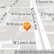 Map IHOP Restaurant Phoenix, United States