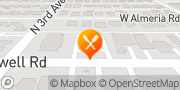 Map Jack in the Box Phoenix, United States