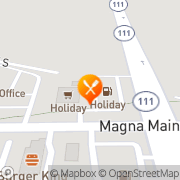 Map Taco Time Magna, United States