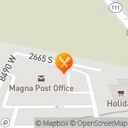 Map Rice King Restaurant Magna, United States