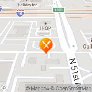 Map Carl's Jr. Phoenix, United States