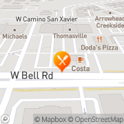 Map Carl's Jr. Glendale, United States