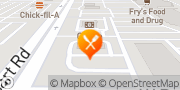 Map Jack in the Box Avondale, United States
