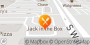 Map Jack in the Box Buckeye, United States