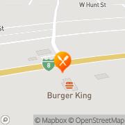 Map Burger King Gila Bend, United States