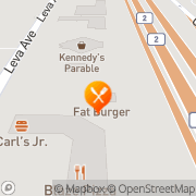 Map Fatburger & Buffalo's Express Red Deer County, Canada