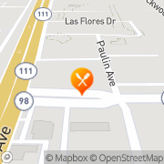 Map Carl's Jr Calexico, United States