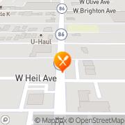 Map Chili's Grill & Bar El Centro, United States