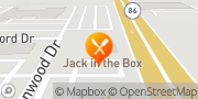 Map Jack in the Box El Centro, United States