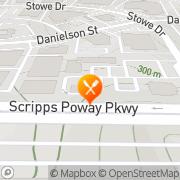 Map Carl's Jr Poway, United States