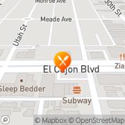 Map Awash Ethiopian Restaurant San Diego, United States