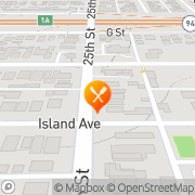 Map SQUE BBQ San Diego, United States