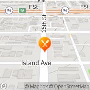 Map Tamales Chiapaneco San Diego, United States