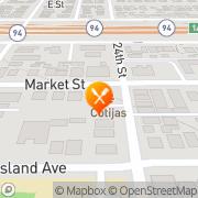 Map Cotijas Taco Shop San Diego, United States