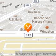 Map Carl's Jr San Marcos, United States