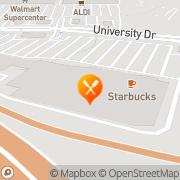 Map Pizza Hut Express Vista, United States