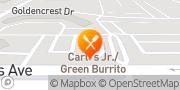 Map Carl's Jr. Moreno Valley, United States