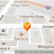 Map Carl's Jr Riverside, United States