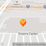 Map Pizza Hut Express Fontana, United States