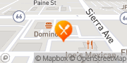 Map Jack in the Box Fontana, United States