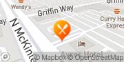 Map Jack in the Box Corona, United States
