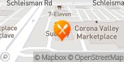 Map Pizza Hut Corona, United States