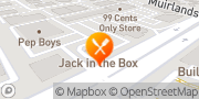 Map Jack in the Box Lake Forest, United States
