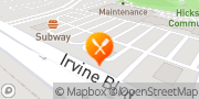 Map Jack in the Box Irvine, United States