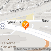 Map Denny's La Verne, United States