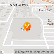 Map Pizza Hut Express San Dimas, United States