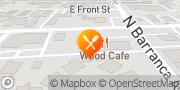 Map Pizza Hut Covina, United States