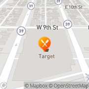 Map Pizza Hut Express Azusa, United States