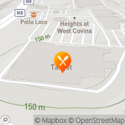 Map Pizza Hut Express West Covina, United States