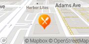 Map Pizza Hut Costa Mesa, United States