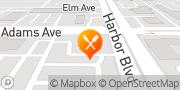 Map Boston Market Costa Mesa, United States
