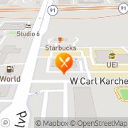 Map Carl's Jr. Anaheim, United States