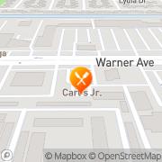 Map Carl's Jr. Huntington Beach, United States