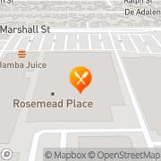 Map Pizza Hut Express Rosemead, United States