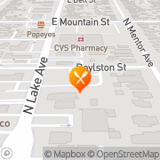 Map Carl's Jr. Pasadena, United States