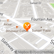 Map Hello Teriyaki Los Angeles, United States