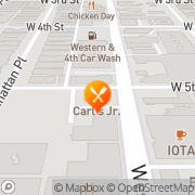 Map Carl's Jr Los Angeles, United States
