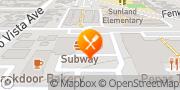 Map Pizza Hut Sunland, United States