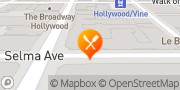 Map The Breakfast Club Hollywood, United States