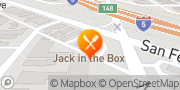 Map Jack in the Box Burbank, United States